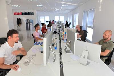 Pixartprinting har öppnat upp sin digitala trycktjänst globalt